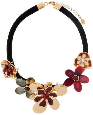Accessorize Statement Flower Necklace