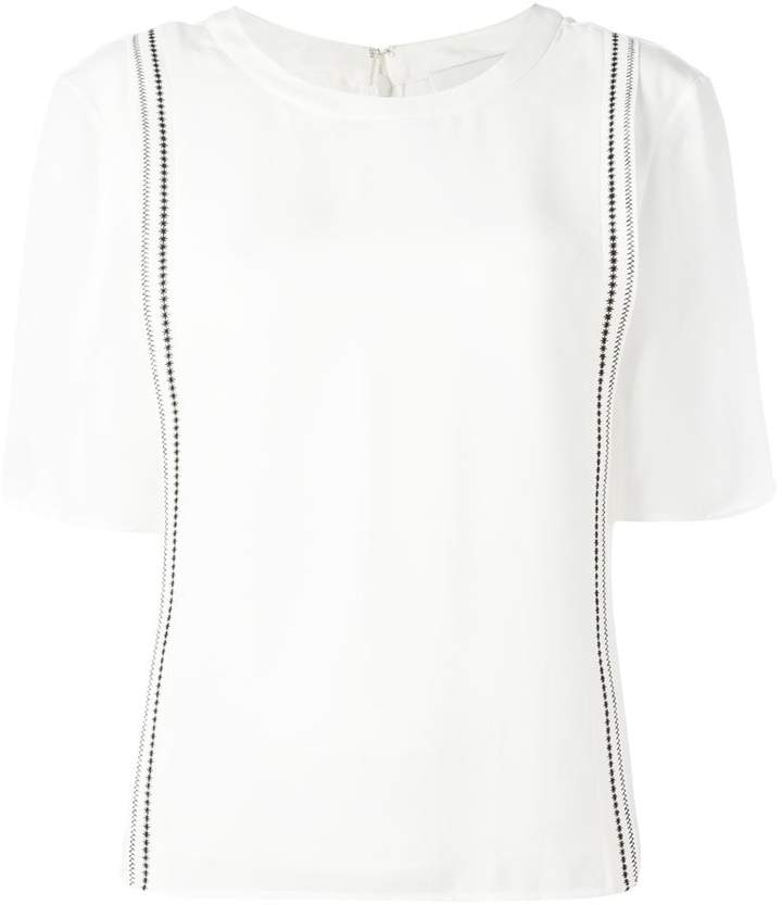 3.1 Phillip Lim embroidered top