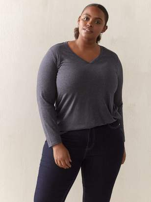 Grey V-Neck T-Shirt - In Every Story