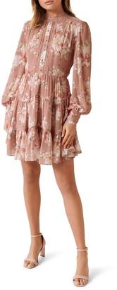 Ever New Kai Long Sleeve Minidress