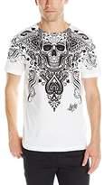Liquid Blue Men's Spade Skull T-Shirt