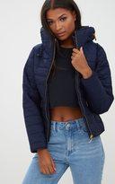 PrettyLittleThing Mara Khaki Puffer Jacket