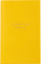 Smythson 'Follow Your Dreams' Panama Notebook