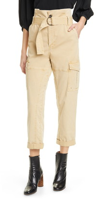Frame Safari Paperbag Waist Pants