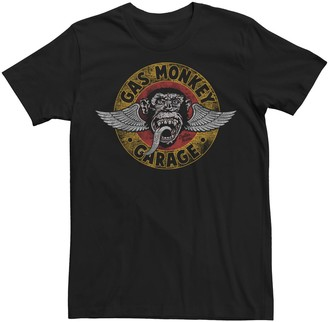 Men's Gas Monkey Garage Logo Graphic Tee