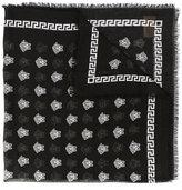 Versace Medusa print scarf - women - Silk/Modal - One Size
