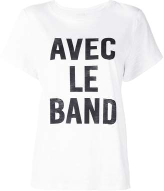 Cinq à Sept With The Band T-shirt