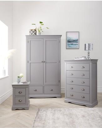 Dorset 3 Door, 3 Drawer wardrobe