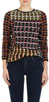Marni Women's Abstract Jacquard Cotton-Blend Sweater