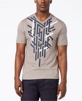 Sean John Men's Tetris Linear Graphic Print T-Shirt