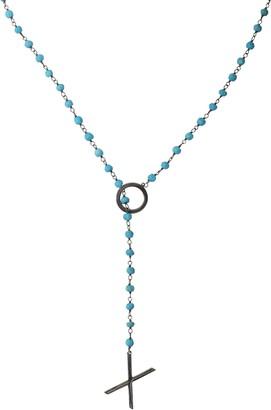 ADORNIA XO Rosary Y-Necklace