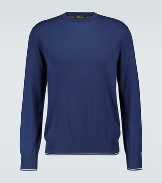 Loro Piana Gosford knitted cotton sweater