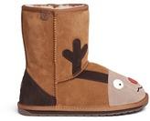 Emu 'Reindeer' suede kids boots