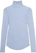 J.Crew Tencel and cashmere-blend turtleneck sweater