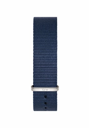 Daniel Wellington Fabric (Polyester) Blue Watch Strap 18 (Model: DW00200214)