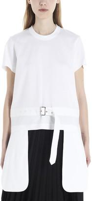 Noir Kei Ninomiya Belted Pocket Detail T-Shirt
