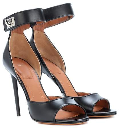 Givenchy Shark leather sandals