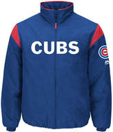 Majestic Men's Chicago Cubs On-Field Thermal Jacket