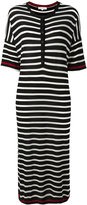 Chinti and Parker striped knitted dress - women - Merino - XS