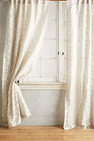 Anthropologie Traced Jacquard Curtain