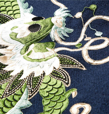 Gucci Embroidered Wool and Cashmere-Blend Scarf