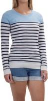 Tommy Bahama Kennett Stripe Sweater - Cotton Blend, Pullover (For Women)