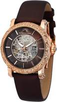 Porsamo Bleu Women's Liza Rose Gold-Tone Stainless Steel & Satin Watch, 38mm