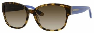 Juicy Couture Juicy 573/S 0ESP Camel Tortoise Y6 brown gradient lens Sunglasses