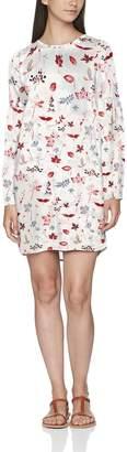 Vero Moda Women's Vmsanne L/s Short Dress Party
