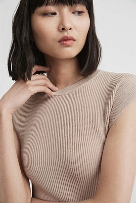 Witchery Textured Short Sleeve Knit