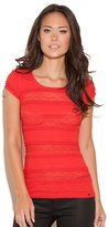 GUESS Lilly Short-Sleeve Top