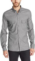 French Connection Men's Soft Underground Button-Down Shirt