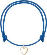 With Love Darling Little Heart 18K Gold Cord Bracelet