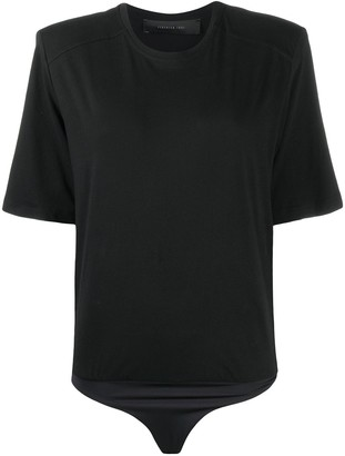 FEDERICA TOSI shoulder-pad T-shirt