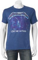 Men's Metallica Ride The Lightning Graphic Tee