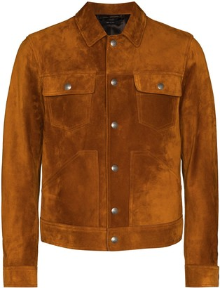 Tom Ford Shirt-Style Trucker Jacket
