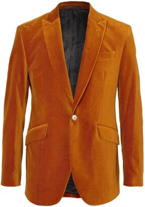 Favourbrook Newport Slim-Fit Cotton-Blend Velvet Tuxedo Jacket