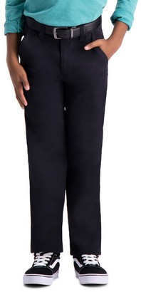 Haggar Boys 8-20 Sustainable Slim-Fit Chino Pants