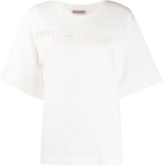 Moncler cut-out logo T-shirt