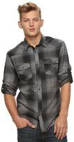Rock & Republic Big & Tall Plaid Flannel Button-Down Shirt