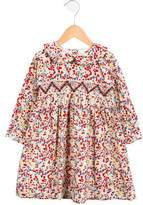 Rachel Riley Girls' Floral Peter Pan Collar Dress