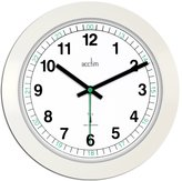 Acctim Radio Controlled Wall Clock 275mm - Black