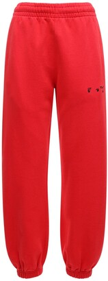 Off-White Logo Slim Jersey Sweatpants