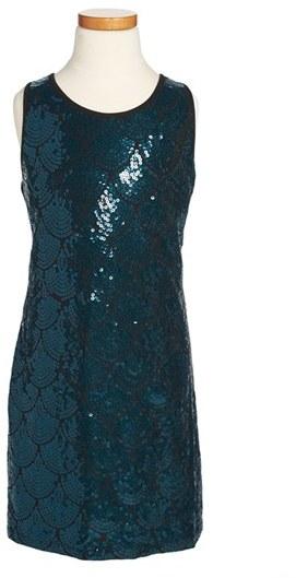 Sally Miller 'All That Jazz' Sequin Dress (Big Girls)