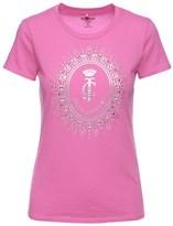 Juicy Couture Logo Starburst Cameo Short Sleeve Tee