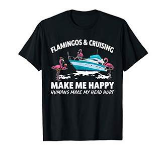 IDEA Flamingo Cruising Make Happy Flamingo Lovers Gift T-Shirt