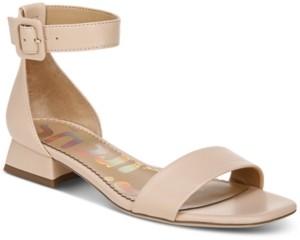 Sam Edelman Jade Two-Piece Block-Heel Sandals Women's Shoes