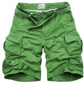 Feinste Men's Casual Loose Fit Cargo Shorts