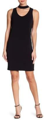 Velvet by Graham & Spencer Choker Neck Stretch Jersey Dress