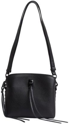 Rebecca Minkoff Small Darren Leather Fringe Crossbody Bag